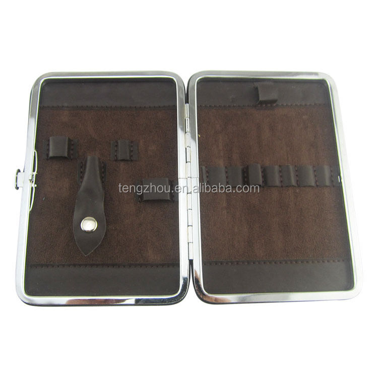 Wholesale high quality nail care kit stainless steel manicure set