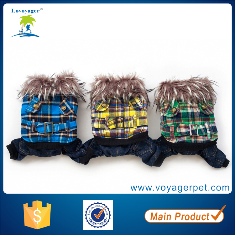 Lovoyager dog supplies dog clothes winter fleece dog coat wholesale