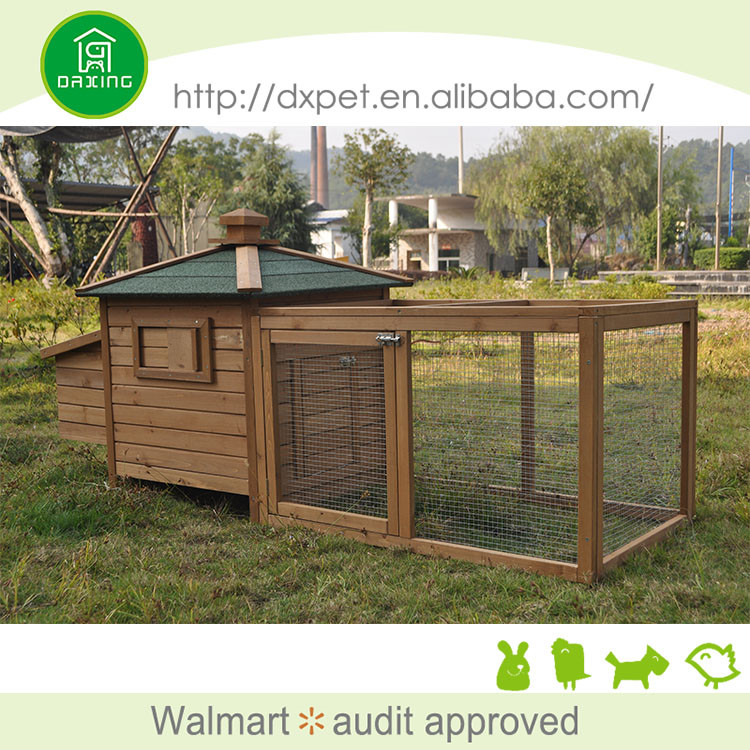 Waterproof eco-friendly fir wood deluxe cage pet