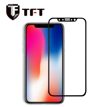 High quality 3D curved full cover tempered glass mobile phone screen protector for iPhone X