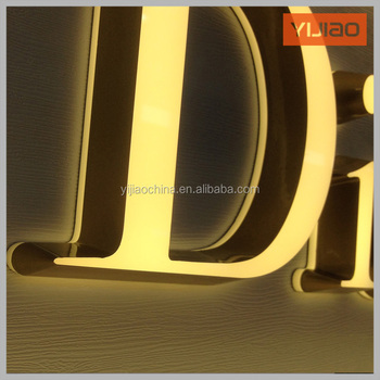 Acrylic Alphabet Letter Sign With Led Light Led