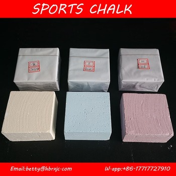 Color gym chalk for Weight lifting chalk rock climbing chalk block