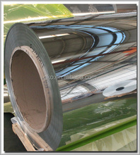 gold/silver mirror aluminum coil/strip for channel letter
