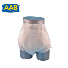 AAB brand high quality thick disposable adult baby diapers for elders
