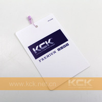 NEW! Plastic Brand Name Tag for Garments