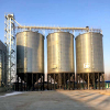 Grain silo storage silo for paddy storage with corn hopper bottom