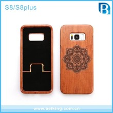 bamboo wooden engraving design wooden cell phone cases for iphone ,mobile phone accessories