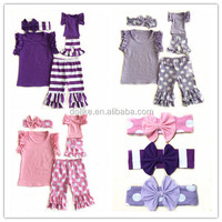2015 wholesale baby clothes with dolls giggle moon remake baby boutique clothing toddler baby clothing
