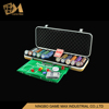 500 pcs ABS case Casino Style Poker Chip Set