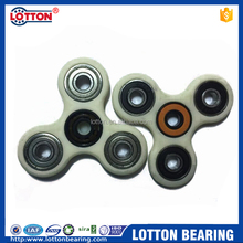 LOTTON Professional Manufacturer Supply Hand Spinner Tri Bearing