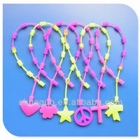 Colorful Multi Color Silicone Chain Bracelet