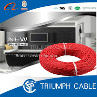 PVC insulated twin twisted electrical cables