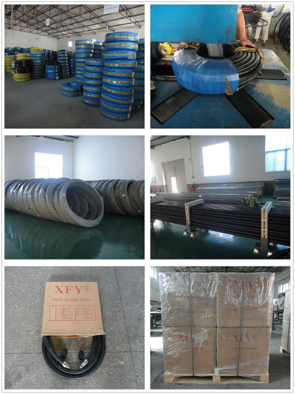 High Quality Certificated Rubber Fuel Dispenser Hose Gasoline Hose 3/4'' 1'' 5/8'' 7/8''size