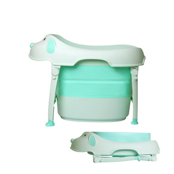 China factory PP folding baby bathtub