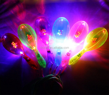 Shining Toys LED Plastic Maracas Noise Maker light Up Neon Toys