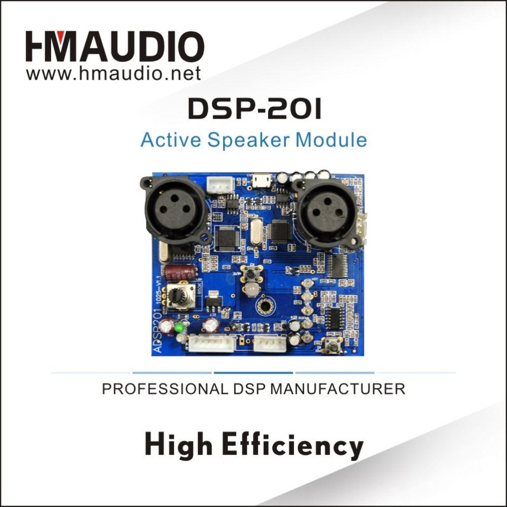 DSP - 201 high DSP chip processor audio dsp module for Active Speaker