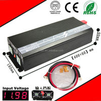 2000W 12VDC-220VAC pure sine wave inverter/power supply inverter without AC charge home inverter