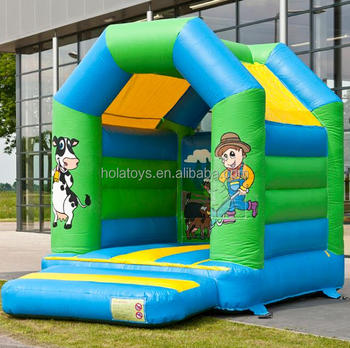 Hola farm boy bouncy house/bouncy castle inflatable/bouncy castle
