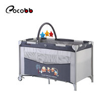 EN716 certificate baby furniture travel play pen baby crib for playing and sleeping