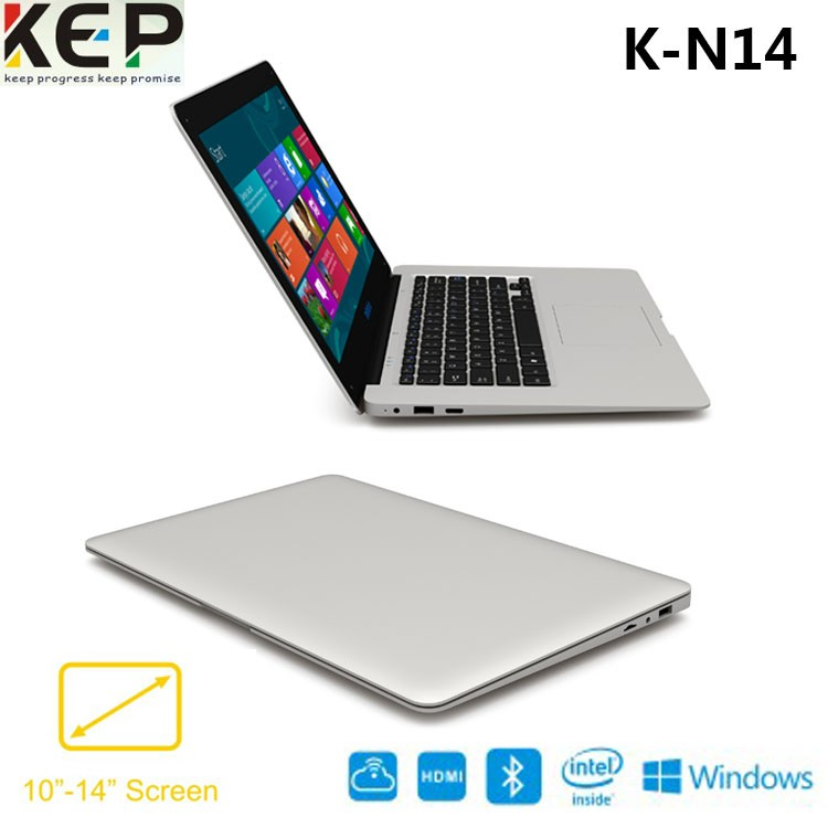 Hot products 2017 14.1 Intel Tablet PC Cherry trail Z8300 Dual OS notebook computer laptop