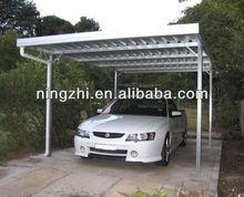 Flat Roof Metal Carports