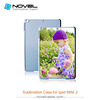 Blank cell phone case sublimation cover for iPad mini2