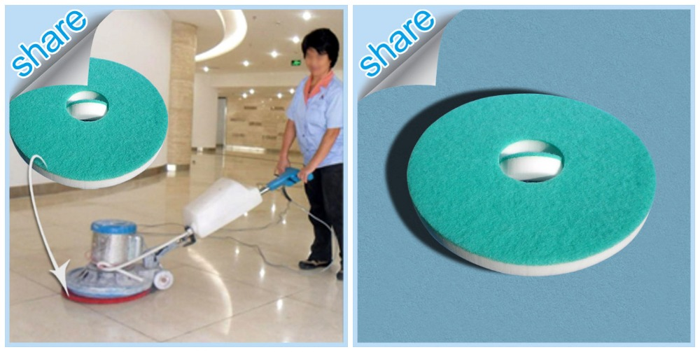 Industrial Floor Clean Melamine Sponge Pad Products for Granite Floor Cleaning