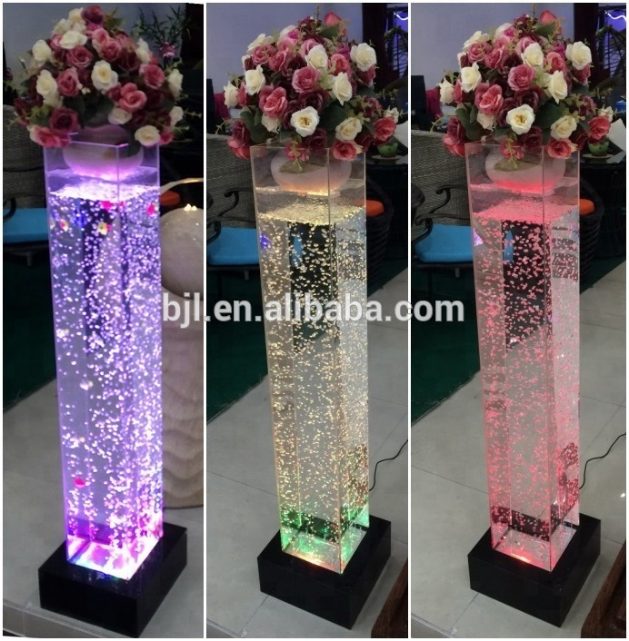 colorful bubble tube wedding <strong>decoration</strong>