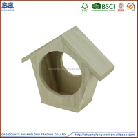 China professional factory handmade wholesale bird cages/wooden bird house