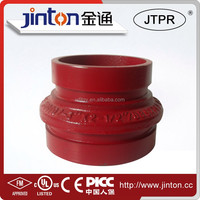 FM UL Ductile Iron fire fighting pipe fitting reducer