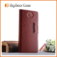 PU leather card holder for lenovo a2107 case
