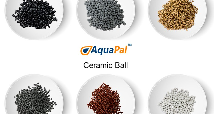 Hydrogen water ceramic ball