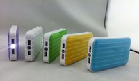Portable 8400mah Luggage Carrier Power Bank for Mobile Phone Backup Power for Emergency, External Battery Charger