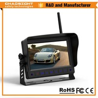 2.4g digital wireless truck rear view camera system Made in China