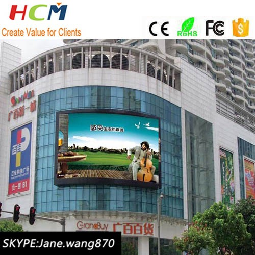 SMD 10mm Pixel Pitch Full Color outdoor advertising Use P10 Giant LED Screen