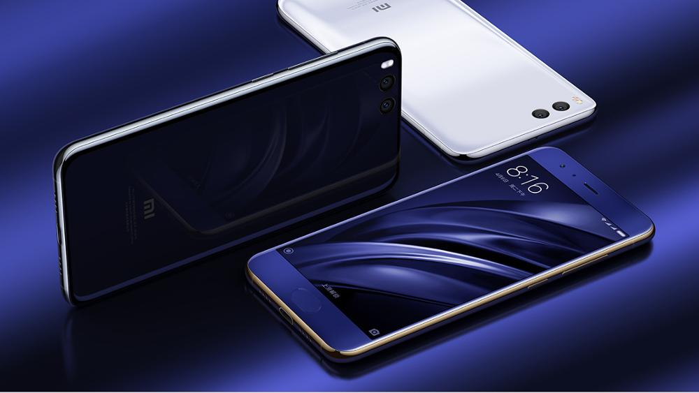 Black and Blue International ROM Original Mobile Phone Mi6 Mi 6 Pro with Global Stable ROM supporting OTA upgdate