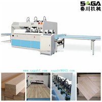 Radio Frequency Gluing Press For Finger Joint Board