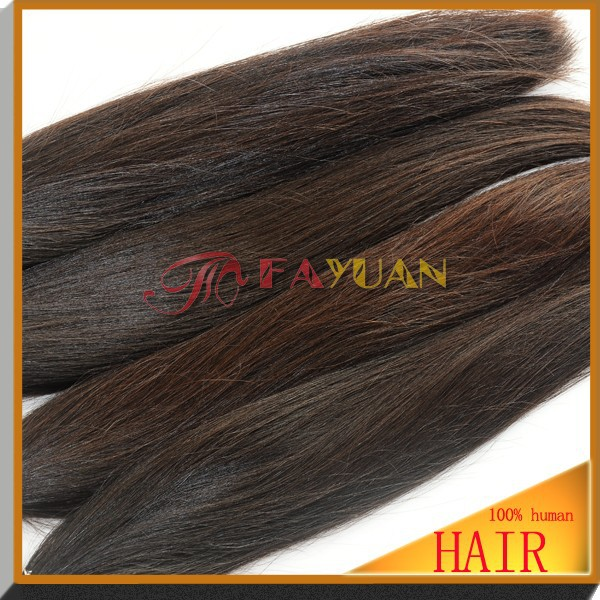 Fayuan sell high quality virgin brazilian golden queen hair extensions