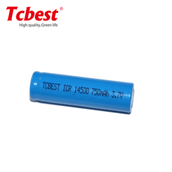 ICR14500 lithium battery 18650 battery