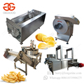 Patato Surgeler Finger Chips Frying Making Equipment Frozen French Fries Production Line Fried Potato Chips/ Stick Machine