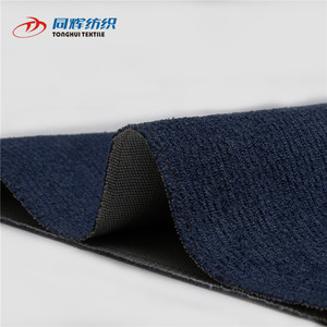 Solid Color 100 Polyester Woven Velour Soft Fabric For Sofa Home Textile