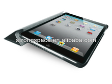 Dynamic folding stand leather cover for ipad mini 2 case with hibernation function by China