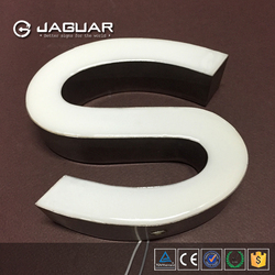Newest friendly plastic epoxy resin led channel letter material for sign