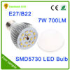 E27 120 degree beam angle 7W led bulb lights ,SMD led lighting bulb remote control led grow bulb light