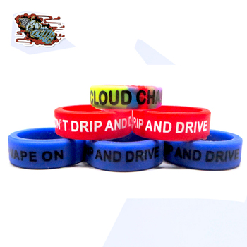 decorative and protection custom vape bands rubber silicone band