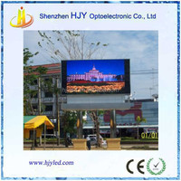 P8 outdoor wireless led moving message display