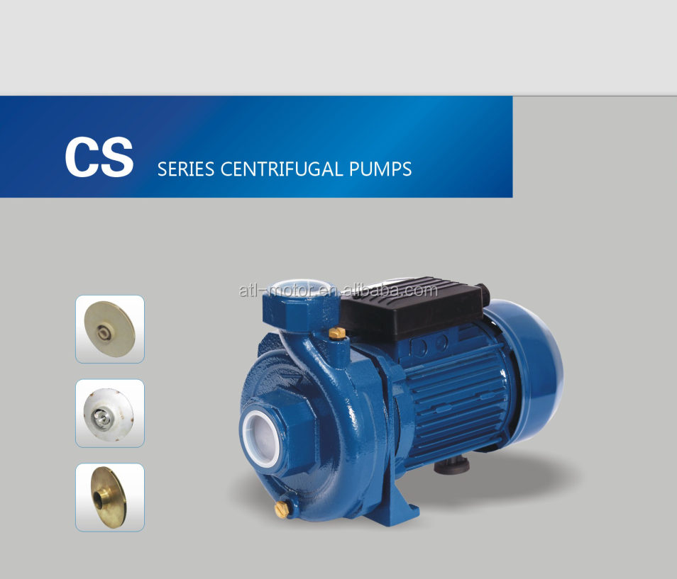 Specification Of High Pressure Centrifugal Water Pump For Water