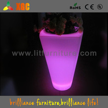 2016 summer promotions colors changing led pot with UL,CE,ROHS standard