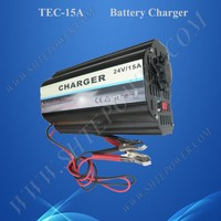 3 Stage Battery Charger 24 Volt 15A, 24V Lead Acid Battery Charger