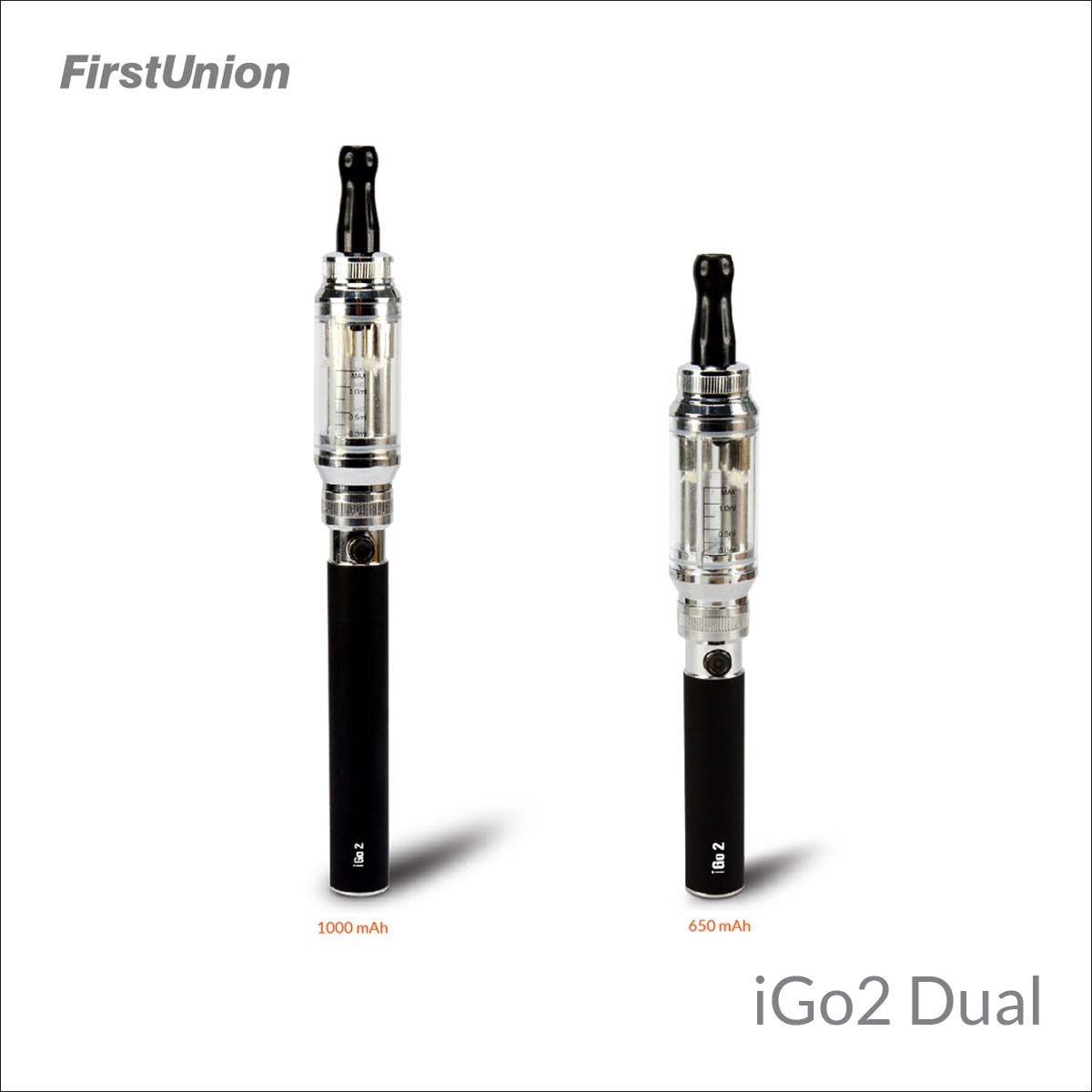 2014 new product wholesale e-cig nemesis mod iGo2 dual 650mAh&1000mAh e cigs for sale